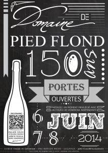 Pied flond affiche 150 ans