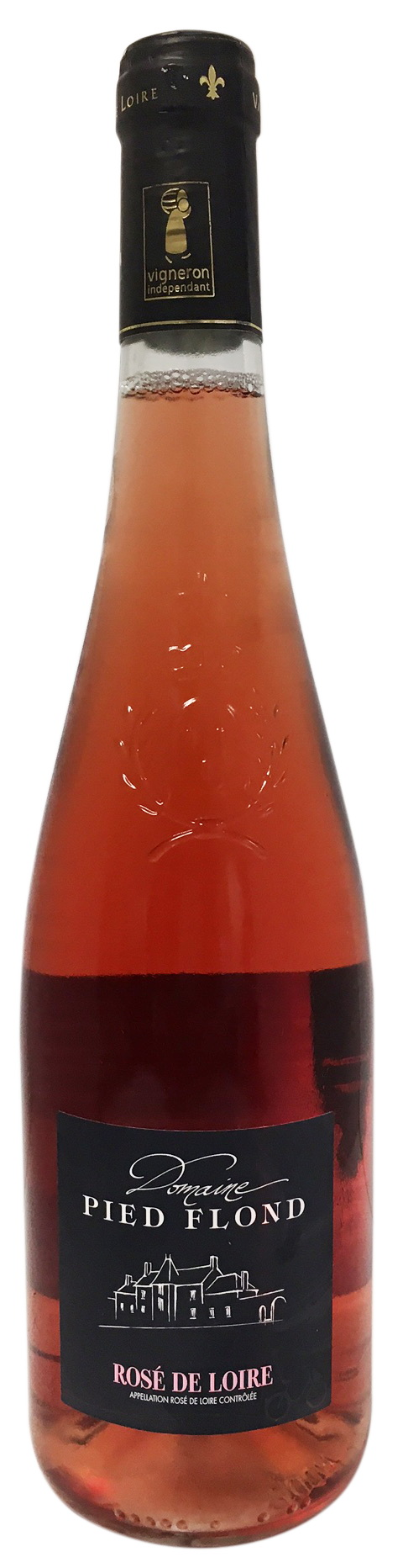 Rosé de Loire sec Pied Flond